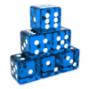 Translucent Blue Dices Angled.png