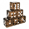 Translucent Brown Dices Angled.png