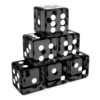Translucent Black Dices Angled.png